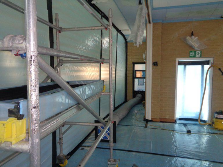 Asbestos removal seals