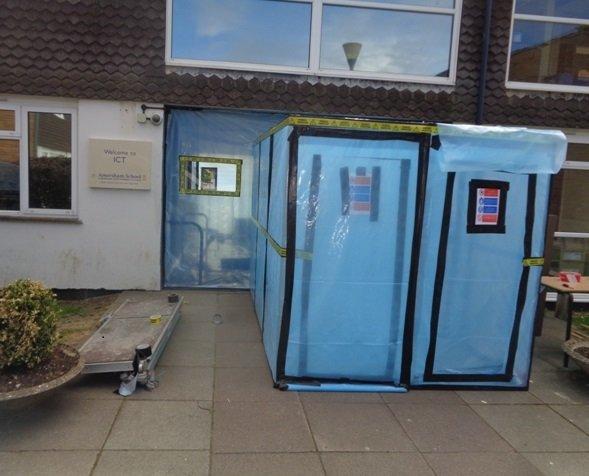 Sealed entrance